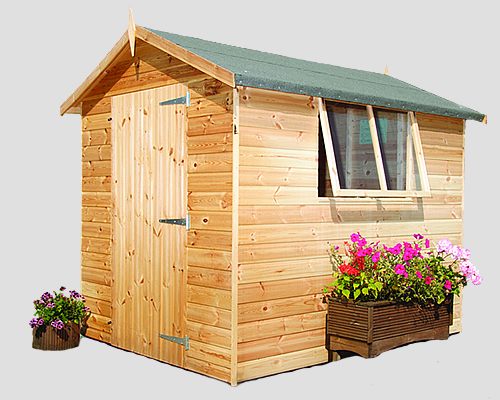Sheds for Sale Devon and Somerset Redwood Timber Buildings
