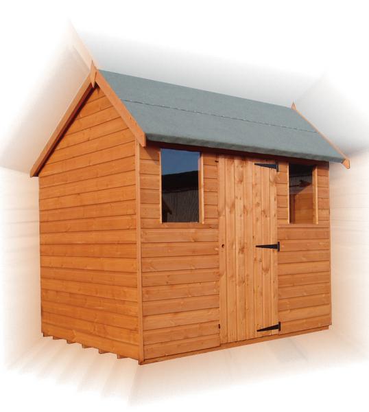 Cheapest garden sheds delivered and erected outlet