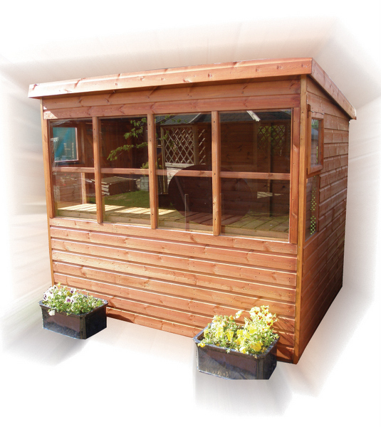 Sheds for sale taunton your local logs for Potting sheds for sale
